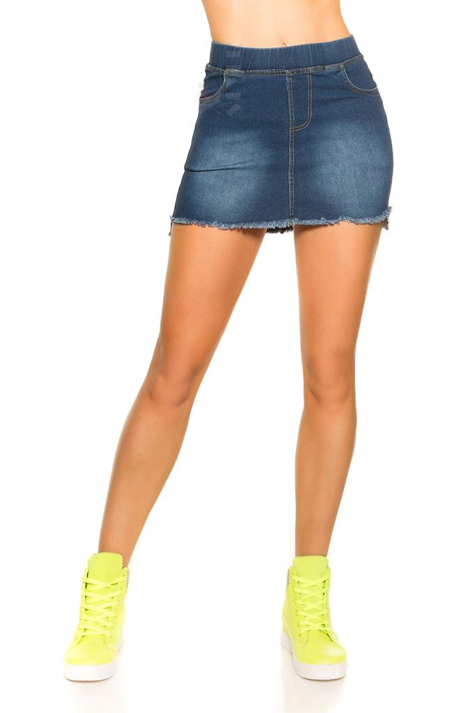 Короткая джинсовая юбка MF7172, 11