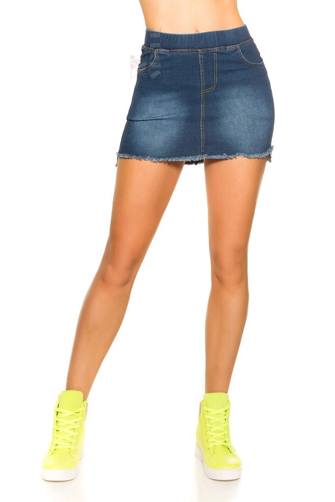 Короткая джинсовая юбка MF7172, 7