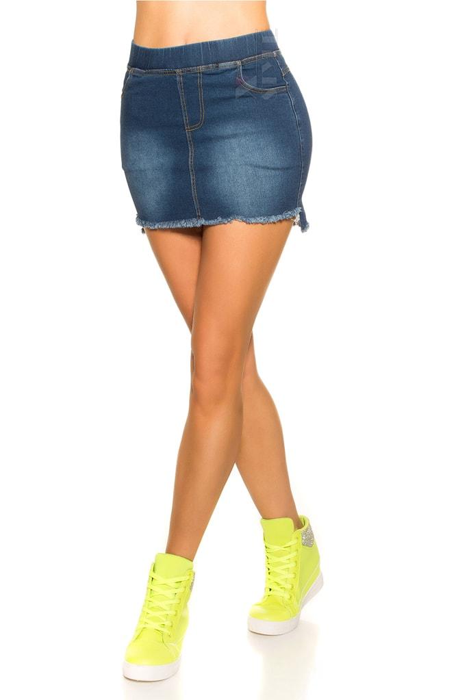 Короткая джинсовая юбка MF7172, 5