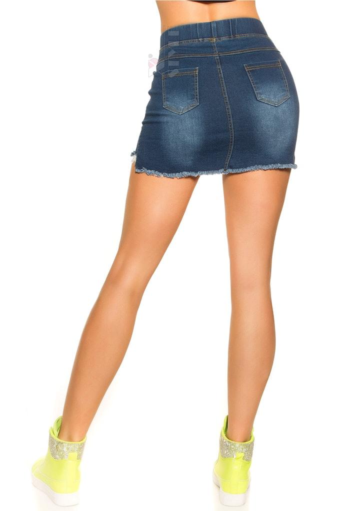 Короткая джинсовая юбка MF7172, 3