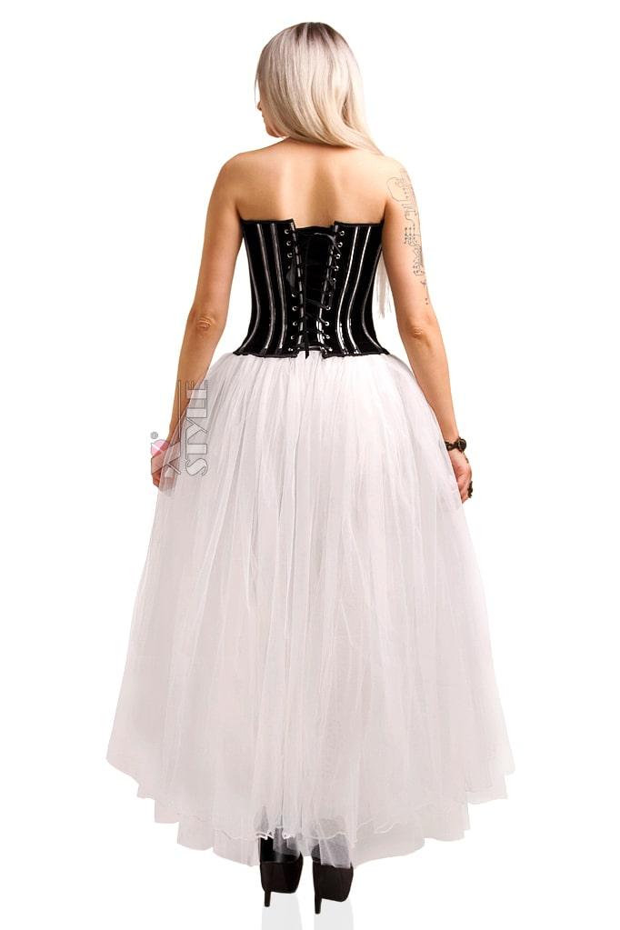 Длинная белая юбка пачка X-Style, 3
