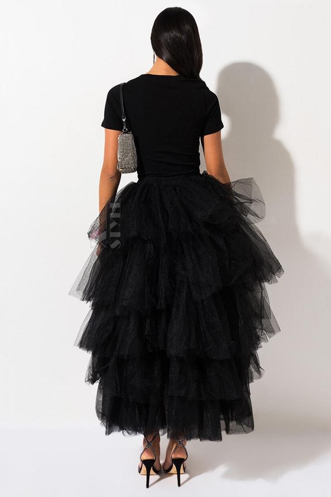 Многослойная пышная юбка-пачка X7201, 5