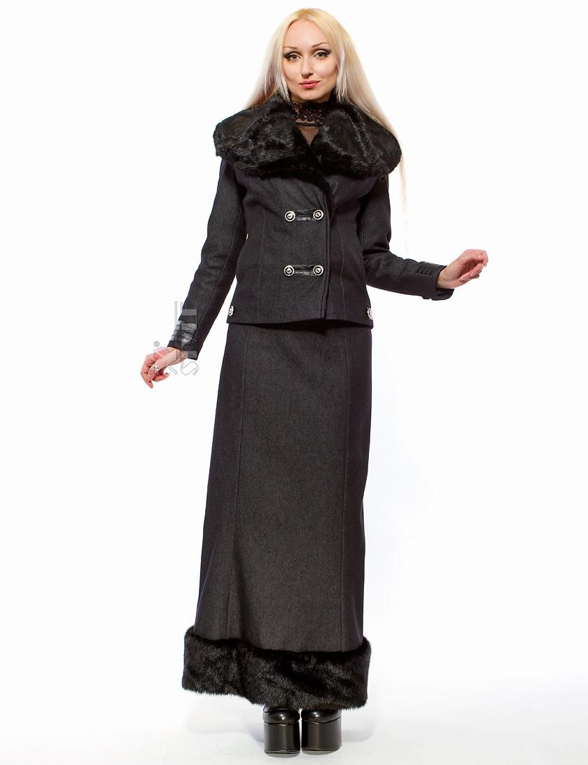 Длинная юбка с мехом X-Style, 5
