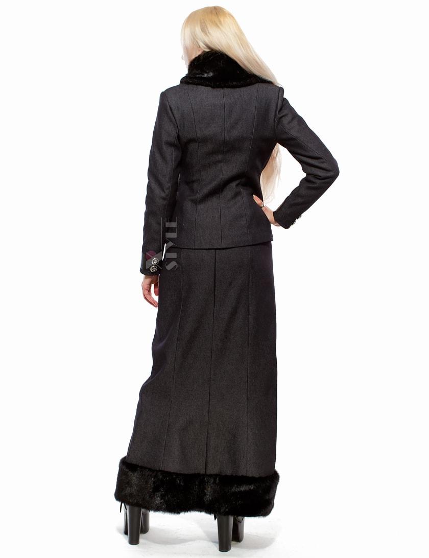 Длинная юбка с мехом X-Style, 7