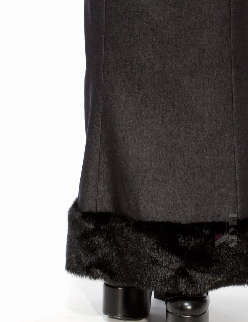 Длинная юбка с мехом X-Style, 3