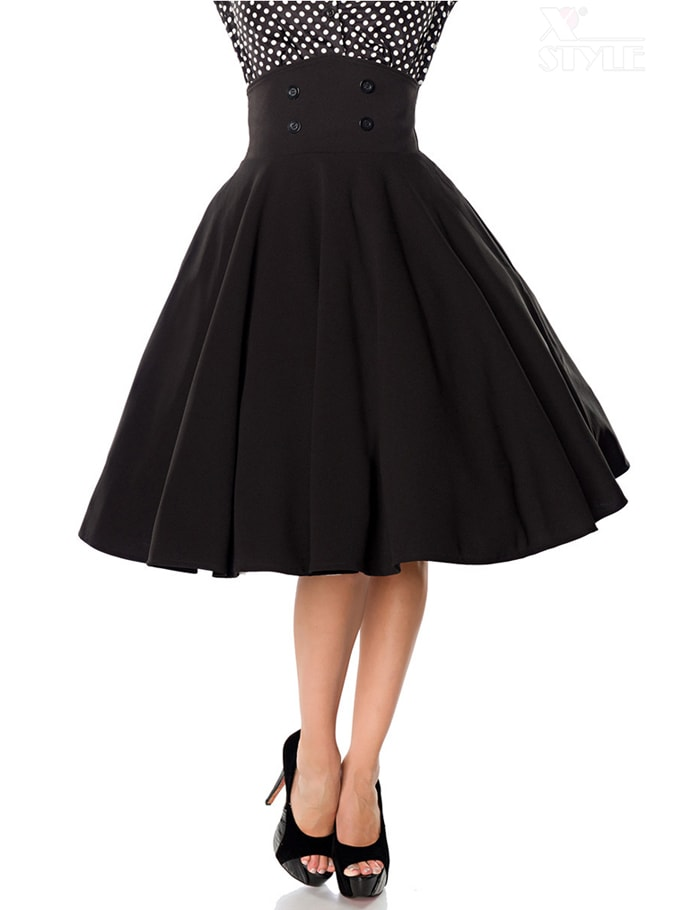 Расклешенная юбка с завышенной талией Belsira, 7