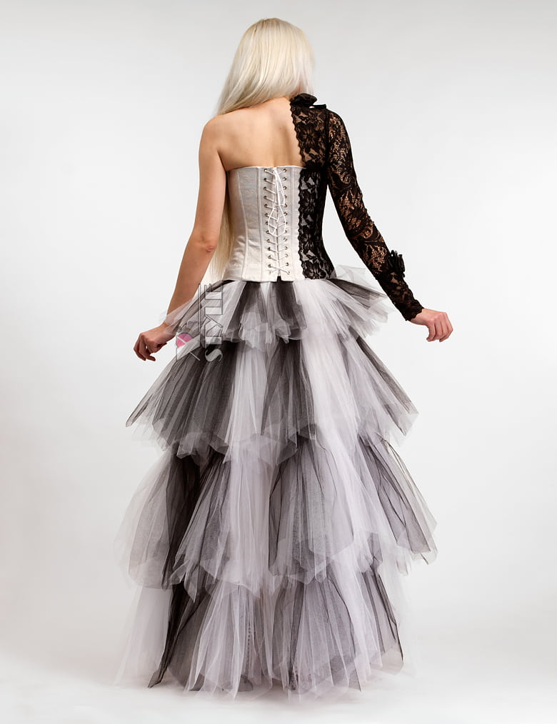 Длинная многослойная пышная юбка X-Style, 3