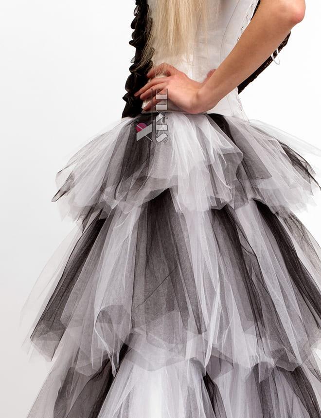 Длинная многослойная пышная юбка X-Style, 7