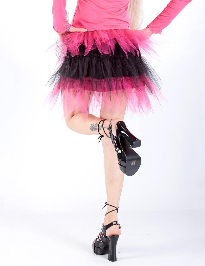 Двухцветная юбка-пачка, 9