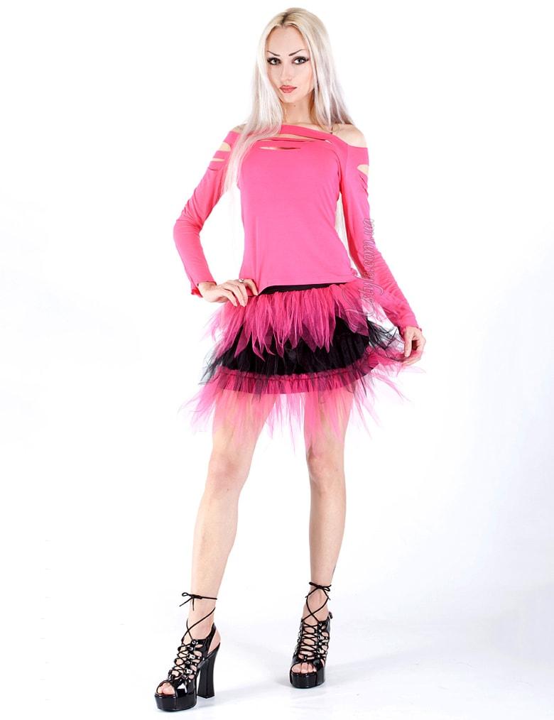 Двухцветная юбка-пачка, 3