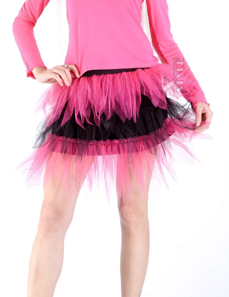 Двухцветная юбка-пачка, 5