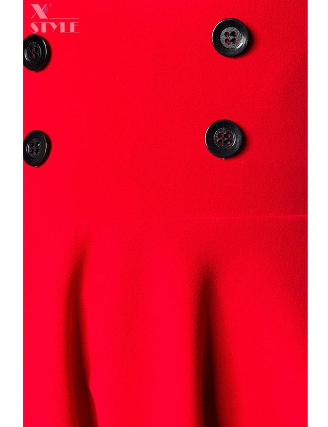 Красная юбка клеш Belsira, 11